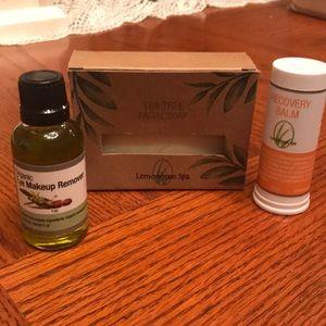 Lemongrass spa organic eye makeup remover